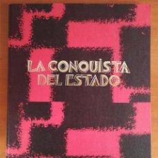 Livres d'occasion: LA CONQUISTA DEL ESTADO - RAMIRO LEDESMA - FALANGE - ARTÍCULOS HITLER MUSSOLINI NACIONALSINDICALISMO. Lote 192153255