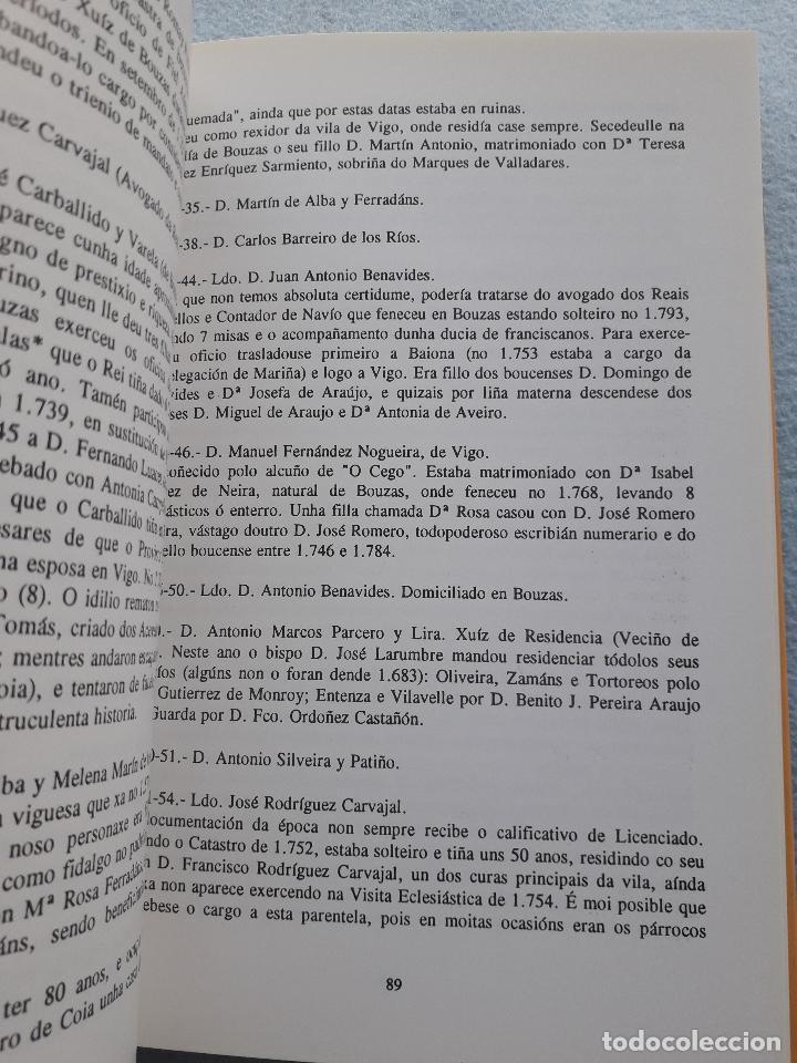 Libros de segunda mano: Os Alcaldes e os Concellos de Vigo. 1ª Edición. X.M. González Fernández. L. Vázquez Xil. - Foto 4 - 192700632