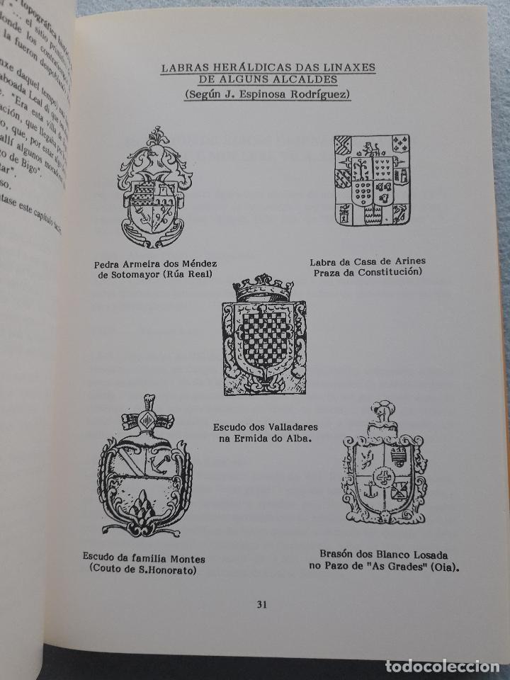 Libros de segunda mano: Os Alcaldes e os Concellos de Vigo. 1ª Edición. X.M. González Fernández. L. Vázquez Xil. - Foto 6 - 192700632