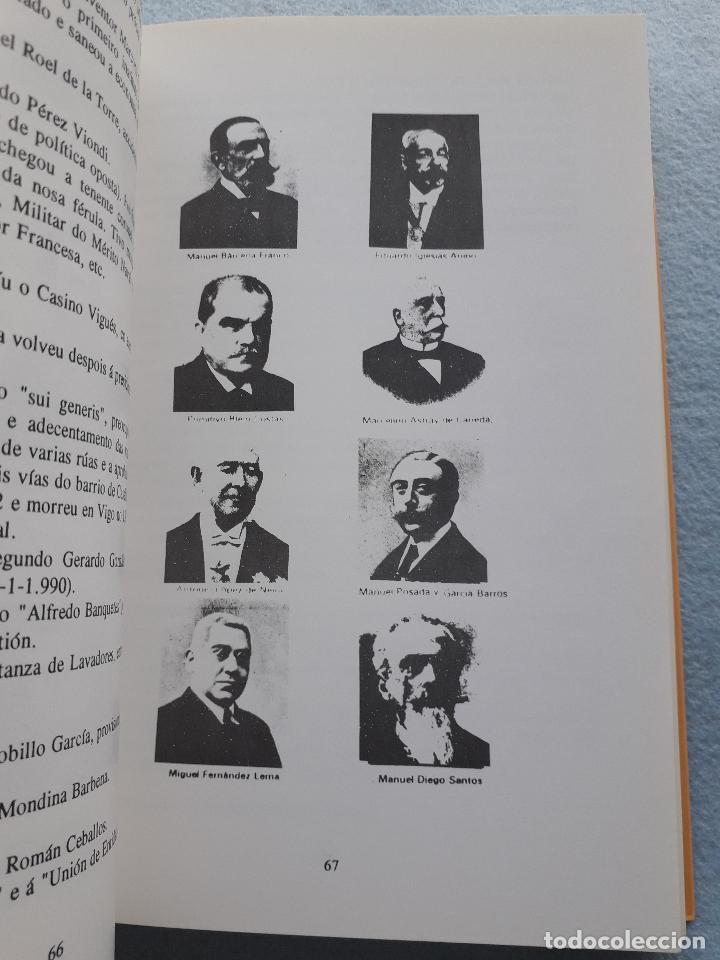 Libros de segunda mano: Os Alcaldes e os Concellos de Vigo. 1ª Edición. X.M. González Fernández. L. Vázquez Xil. - Foto 7 - 192700632