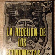 Libros de segunda mano: IMAGEN DEL VENDEDOR LA REBELIÓN DE LOS ECONOMISTAS ** CAMARA, HELDER. Lote 193791421