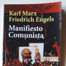 Libros de segunda mano: LIBRO MANIFIESTO COMUNISTA. Lote 194190537