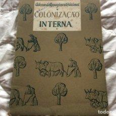 Libros de segunda mano: CUADERNOS DE RESURGENCIA NACIONAL: COLONIZACIÓN INTERNA. ENVIO GRÁTIS.. Lote 194227107