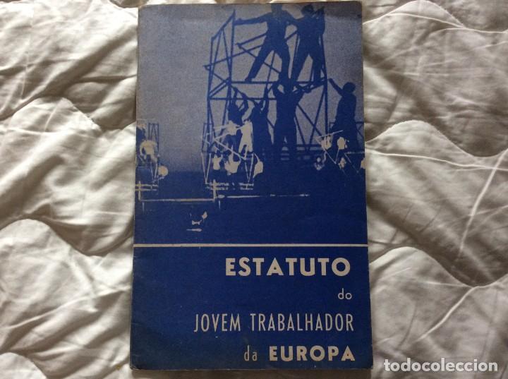 SITUACIÓN DEL JOVEN TRABAJADOR EN EUROPA, 1965. MUY ESCASO. (Libros de Segunda Mano - Pensamiento - Política)