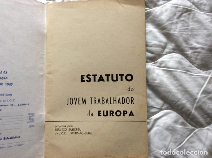 Libros de segunda mano: Situación del joven trabajador en Europa, 1965. Muy escaso. - Foto 2 - 194236973