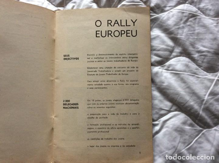 Libros de segunda mano: Situación del joven trabajador en Europa, 1965. Muy escaso. - Foto 4 - 194236973