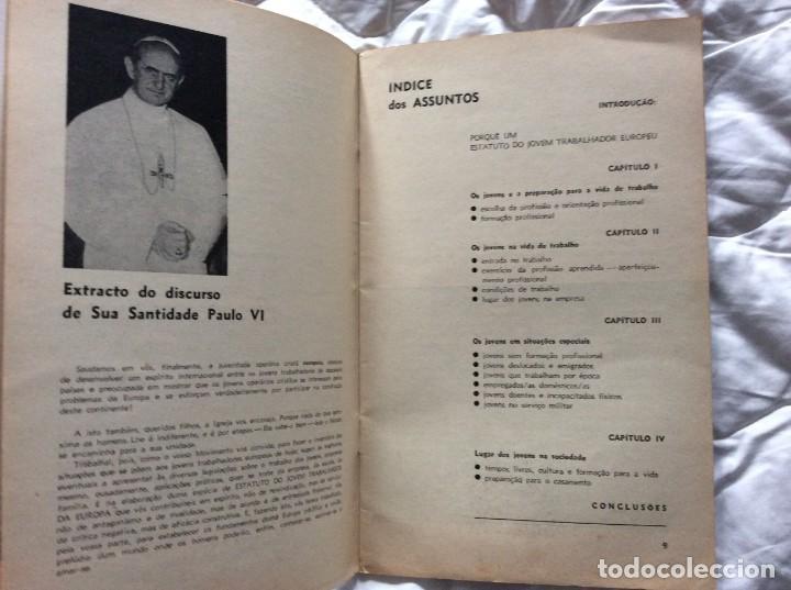 Libros de segunda mano: Situación del joven trabajador en Europa, 1965. Muy escaso. - Foto 5 - 194236973