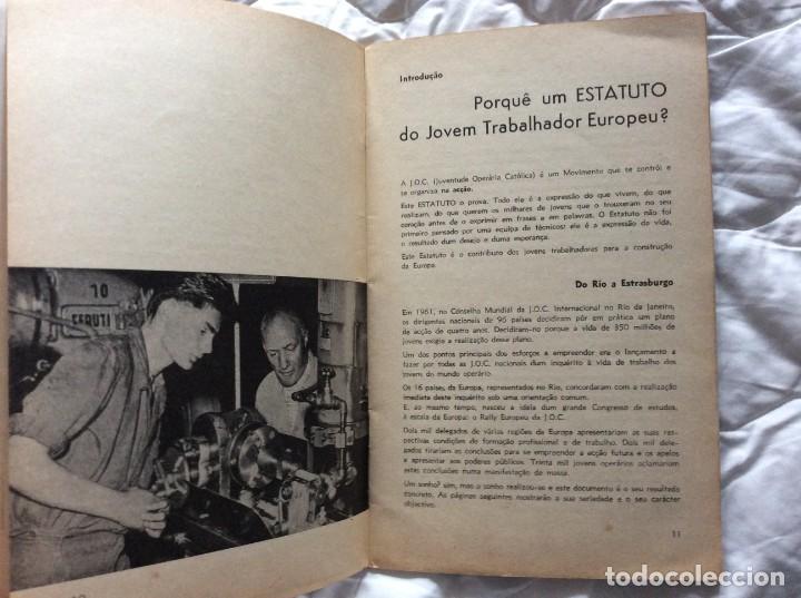 Libros de segunda mano: Situación del joven trabajador en Europa, 1965. Muy escaso. - Foto 6 - 194236973