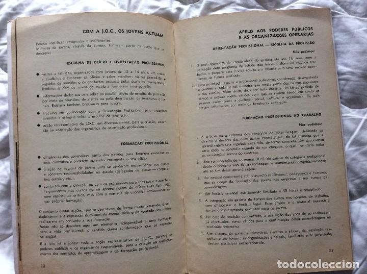 Libros de segunda mano: Situación del joven trabajador en Europa, 1965. Muy escaso. - Foto 7 - 194236973