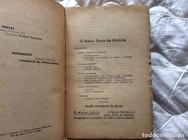 Libros de segunda mano: Pensamiento y acción. Entrenamiento integral. Por Santos Rocha e Domingos Fernandes, 1945 - Foto 3 - 194242140
