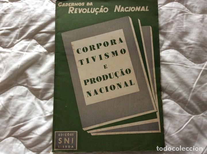 CUADERNOS DE LA REVOLUCIÓN NACIONAL - CORPORATISMO Y PRODUCCIÓN NACIONAL, 1945. (Libros de Segunda Mano - Pensamiento - Política)