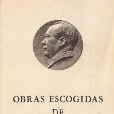 Libros de segunda mano: OBRAS ESCOGIDAS DE MAO TSE-TUNG TOMO II - TSE-TUNG, MAO - FUNDAMENTOS 1974. Lote 194283875