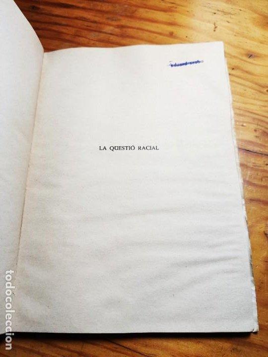 Libros de segunda mano: El racisme i lesglésia. I. M. Congar. - Foto 3 - 194339140