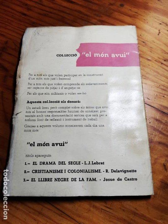 Libros de segunda mano: El racisme i lesglésia. I. M. Congar. - Foto 6 - 194339140