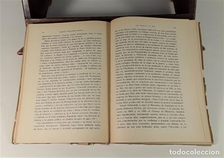 Libros de segunda mano: ENTORNO AL 98 POLÍTICA Y LITERATURA. MELCHOR FERNÁNDEZ. EDIT. JORDAN. MADRID. 1948. - Foto 6 - 180098016