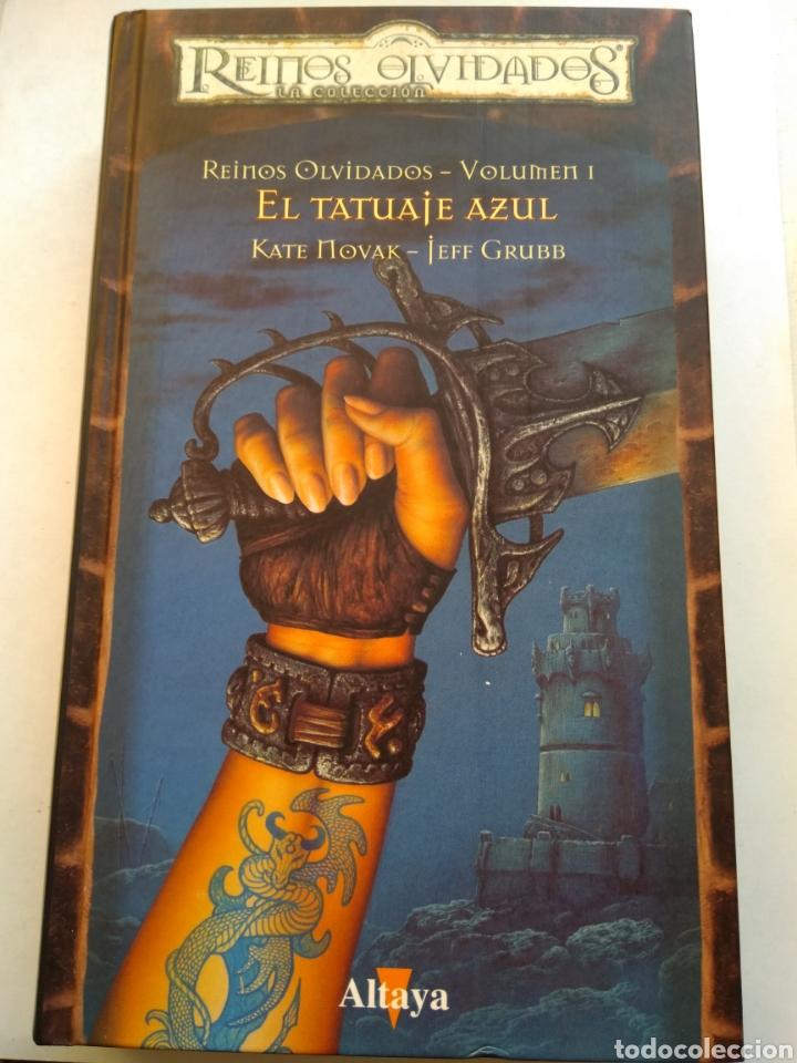 EL TATUAJE AZUL/REINOS OLVIDADOS I (Libros de Segunda Mano - Pensamiento - Política)
