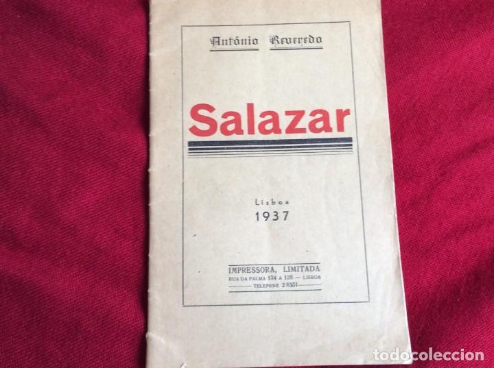 Libros de segunda mano: REVEREDO, Antonio - Salazar. Año 1937. Raro. Envio grátis. - Foto 2 - 194544320