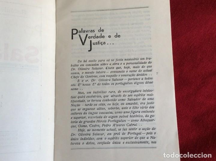 Libros de segunda mano: REVEREDO, Antonio - Salazar. Año 1937. Raro. Envio grátis. - Foto 3 - 194544320
