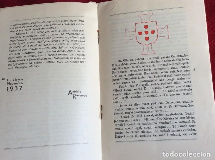 Libros de segunda mano: REVEREDO, Antonio - Salazar. Año 1937. Raro. Envio grátis. - Foto 5 - 194544320