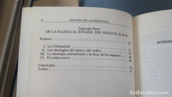 Libros de segunda mano: HISTORIA DE LAS IDEOLOGIAS. CHATELET. 2 TOMOS - Foto 3 - 194872158