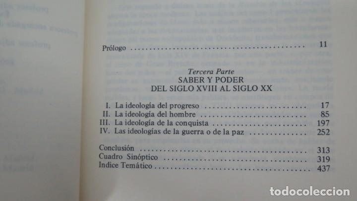 Libros de segunda mano: HISTORIA DE LAS IDEOLOGIAS. CHATELET. 2 TOMOS - Foto 4 - 194872158