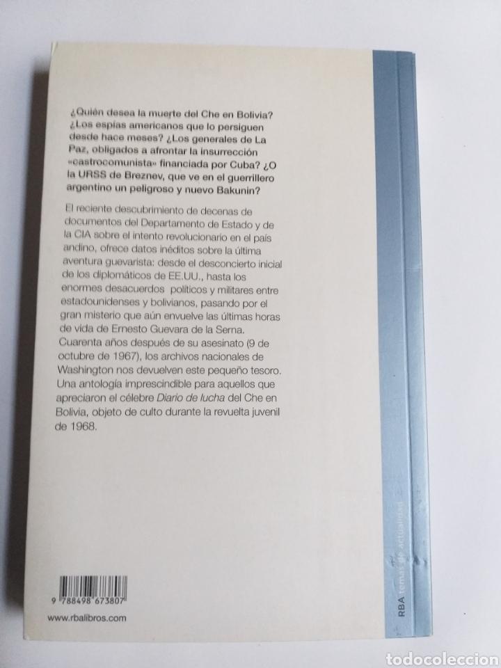 Libros de segunda mano: Che Guevara top secret . La guerrilla boliviana .2008 ... política - Foto 6 - 194874851