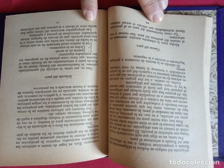 Libros de segunda mano: MANUALES DEL PENSAMIENTO FALANGISTA 1941 - JOSE LUIS DE ARRESE. - Foto 3 - 194887976