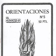 Libros de segunda mano: ORIENTACIONES, DE JULIUS EVOLA. ED. EL CADENAZO - FRENTE DE LA JUVENTUD, 1981.. Lote 195183406