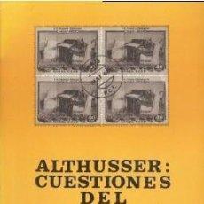 Libros de segunda mano: ALTHUSSER: CUESTIONES DEL LENINISMO - ALBIAC, GABRIEL - ZERO 1976. Lote 195278575