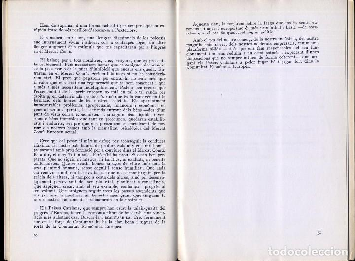 Libros de segunda mano: FERRER GARRIGA, F. Subscrivim el tractat de Roma. 1967. - Foto 3 - 195381080