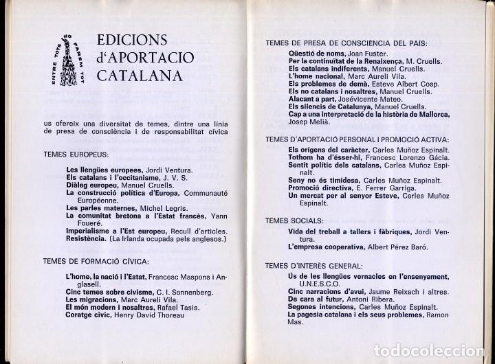Libros de segunda mano: FERRER GARRIGA, F. Subscrivim el tractat de Roma. 1967. - Foto 4 - 195381080