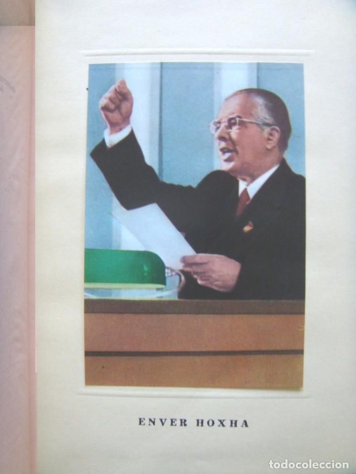 Libros de segunda mano: Enver Hoxha: OBRAS ESCOGIDAS. 5 Tomos - Foto 4 - 195487278