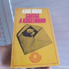 Livres d'occasion: CARTAS A KUGELMANN. MARX KARL. 1974.. Lote 195720860