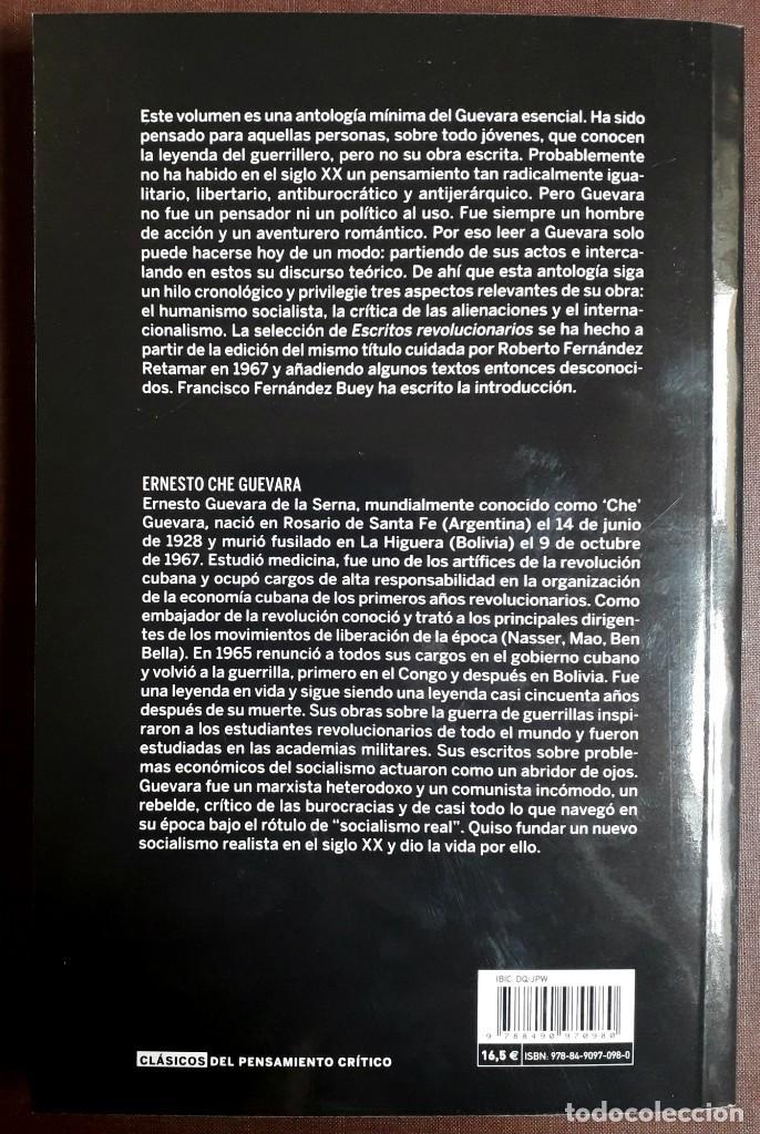 Libros de segunda mano: Ernesto Che Guevara . Escritos revolucionarios - Foto 2 - 196105695