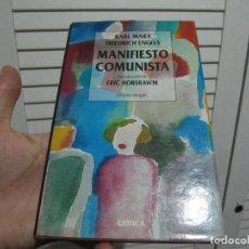 Libros de segunda mano: MARX & ENGELS / MANIFIESTO COMUNISTA / EDICIÓN BILINGÜE / CRÍTICA 1998. Lote 196135248
