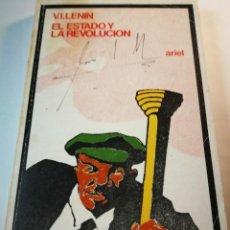 Libros de segunda mano: EL ESTADO Y LA REVOLUCIÓN. V.I. LENIN. Lote 196212792