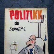 Libros de segunda mano: POLITIKK DE SUMMERS. 1975. Lote 197691713