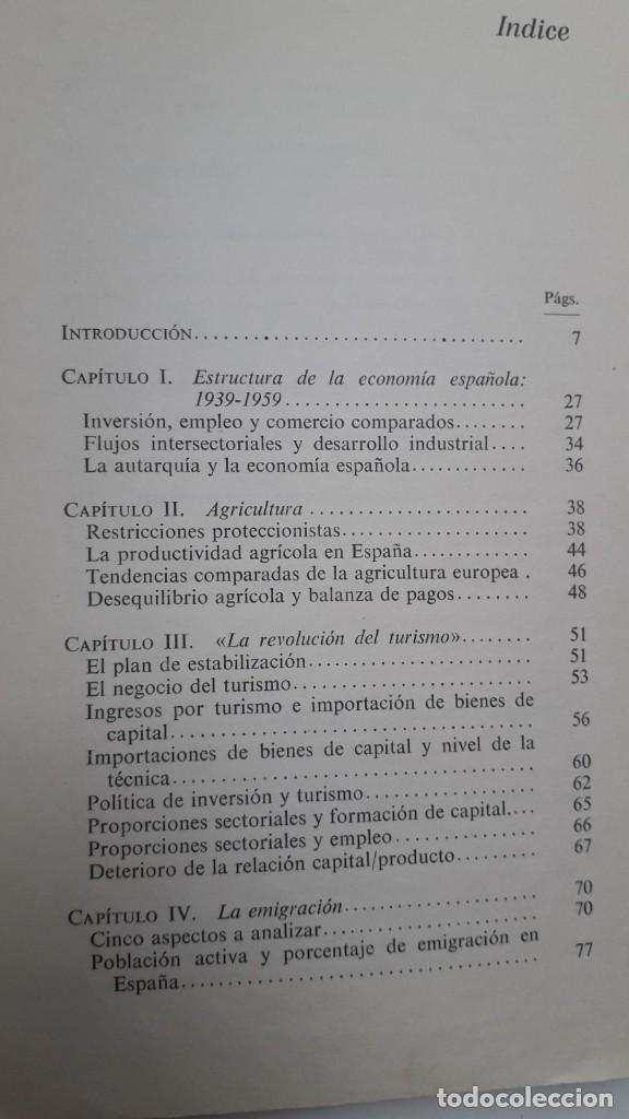 Libros de segunda mano: LOS LIMITES DEL CRECIMIENTO ECONOMICO EN ESPAÑA: 1959-1967. MANUEL ROMAN. ED. AYUSO, 1972 - Foto 3 - 199420373