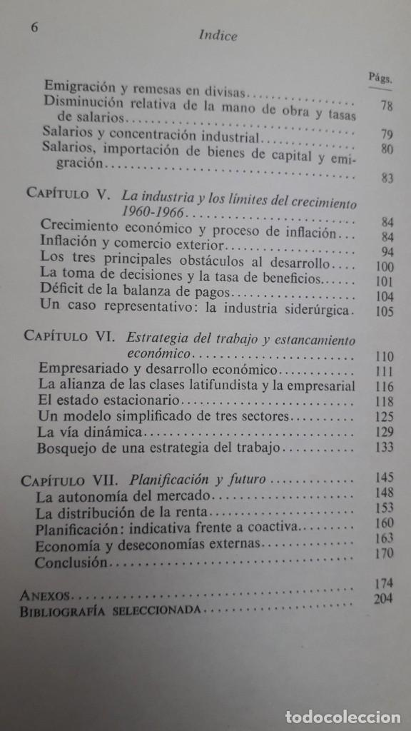 Libros de segunda mano: LOS LIMITES DEL CRECIMIENTO ECONOMICO EN ESPAÑA: 1959-1967. MANUEL ROMAN. ED. AYUSO, 1972 - Foto 4 - 199420373