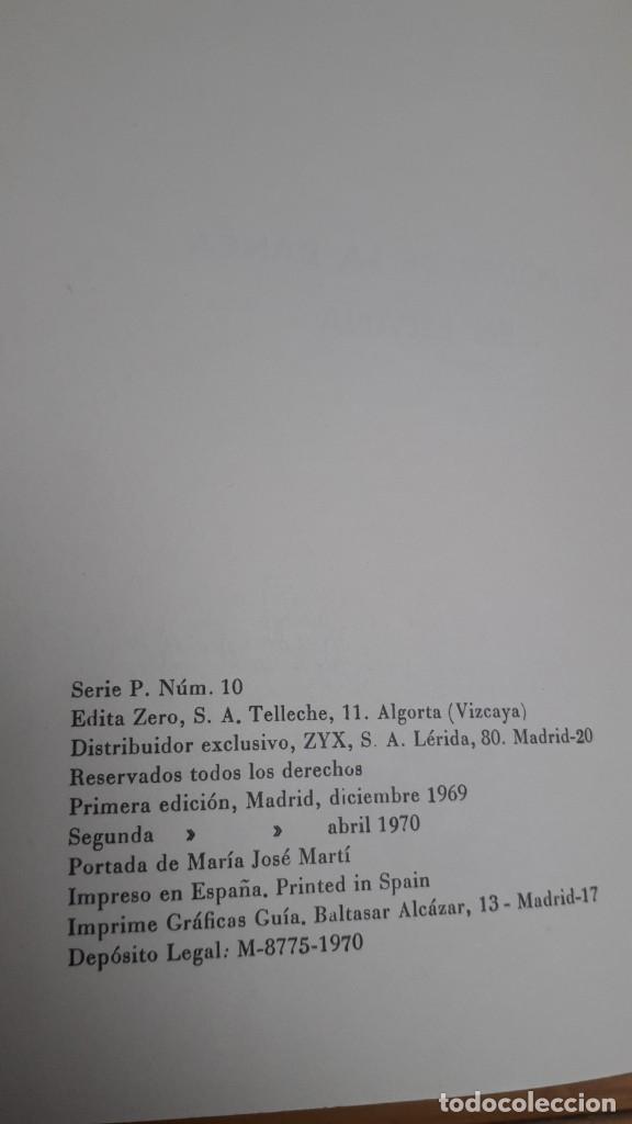 Libros de segunda mano: EL PODER DE LA BANCA EN ESPAÑA - JUAN MUÑOZ. EDITORIAL ZERO 2ª EDICION 1970 - Foto 9 - 199420918