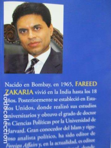 Libros de segunda mano: Fareed Zakaria: EL MUNDO DESPUÉS DE USA (Madrid, 2009) - Foto 4 - 199667561