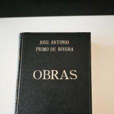 Livres d'occasion: OBRAS JOSE ANTONIO PRIMO DE RIVERA EDITORIAL ALMENA 1970 ESTADO ACEPTABLE VER FOTOS. Lote 201493688