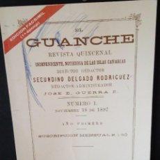 Libros de segunda mano: EL GUANCHE, REVISTA QUINCENAL. Lote 202662160