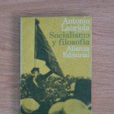 Libros de segunda mano: SOCIALISMO Y FILOSOFÍA. Lote 203232618