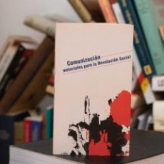 Libros de segunda mano: COMUNIZACION - MATERIALES PARA LA REVOLUCION SOCIAL - ANARQUISMO COMUNISMO. Lote 203350627