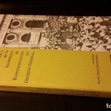 Libros de segunda mano: 1991 - TREJO H. - PERFIL Y SEMBLANZA POLÍTICA DE LA ASAMBLEA DE REPRESENTANTES DEL DISTRTITO FEDERAL. Lote 203628696