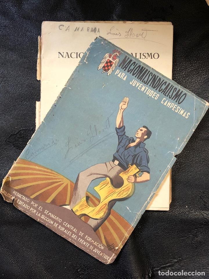 Libros de segunda mano: NACIONALSINDICALISMO PARA JUVENTUDES CAMPESINAS - FORMACION POLITICA RURALES DEL FRENTE 1948 - Foto 2 - 203923908