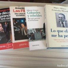 Libros de segunda mano: LIBROS DE POLÍTICA.. Lote 204590551
