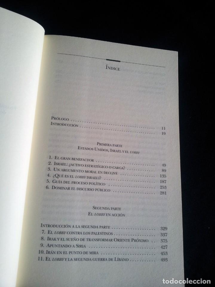 Libros de segunda mano: JOHN J. MEARSHEIMER Y STEPHEN M. WALT - EL LOBBY ISRAELI Y LA POLITICA EXTERIOR DE ESTADOS UNIDOS - Foto 3 - 205126276