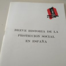Libros de segunda mano: MOVIMIENTO FALANGISTA DE ESPAÑA. CUADERNOS FORMACIÓN. BREVE HISTORIA PROTECCION SOCIAL ESPAÑA. Lote 205284095